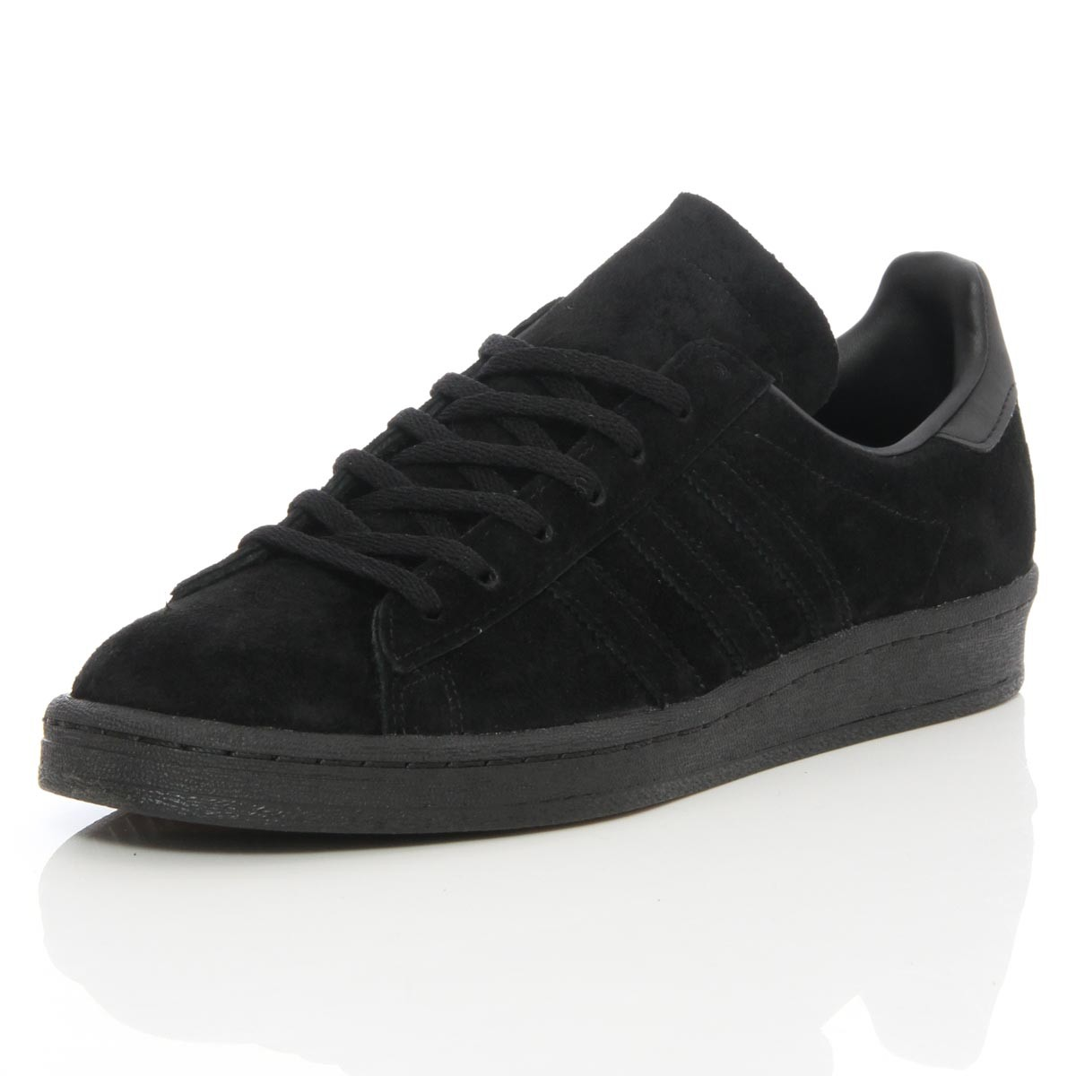 the adidas campus 80s triple black suede has recently launched and is now ISUQIGL