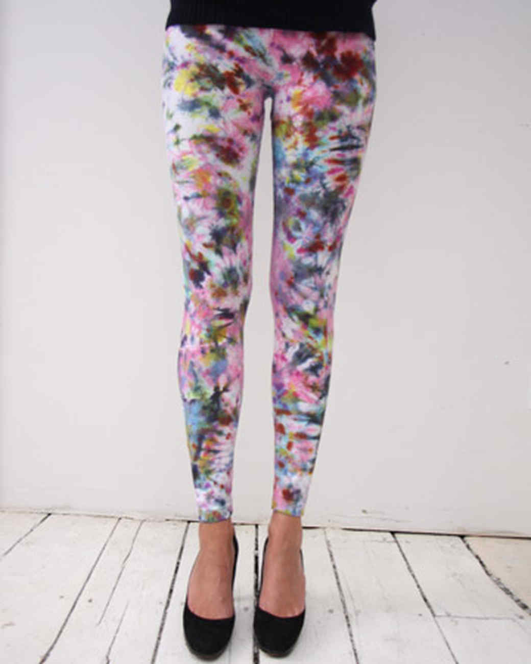 tie dye leggings tie-dyed leggings | martha stewart RGSIUZI