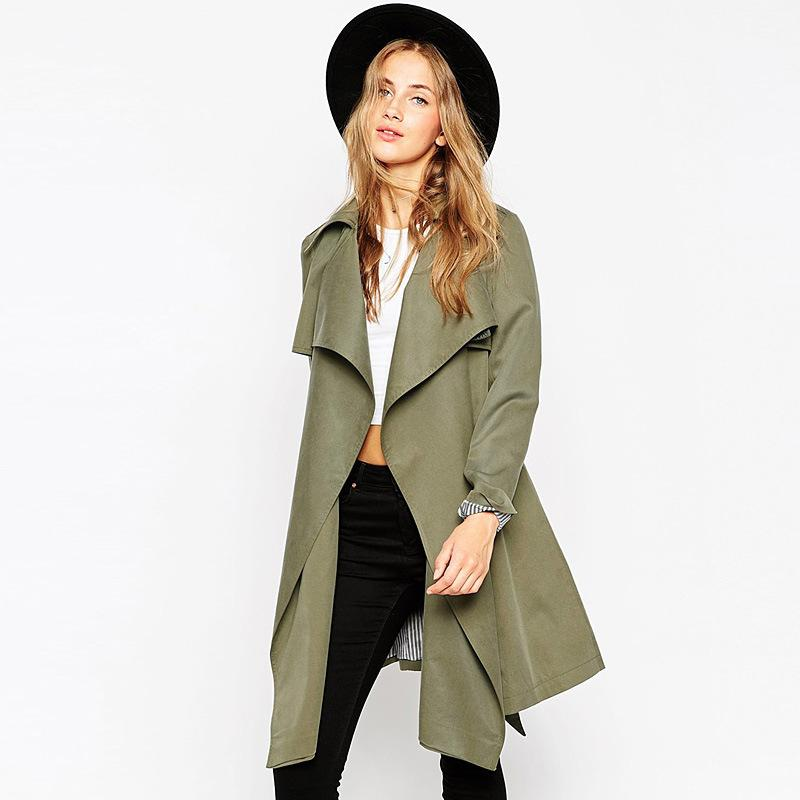 Get smart and stylish to work with trench coats for women