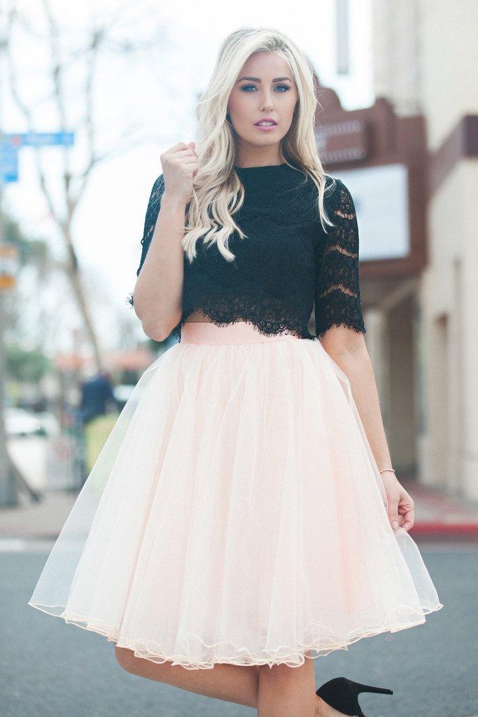 Tulle skirt allure tulle skirt - blush ZDWVRVN