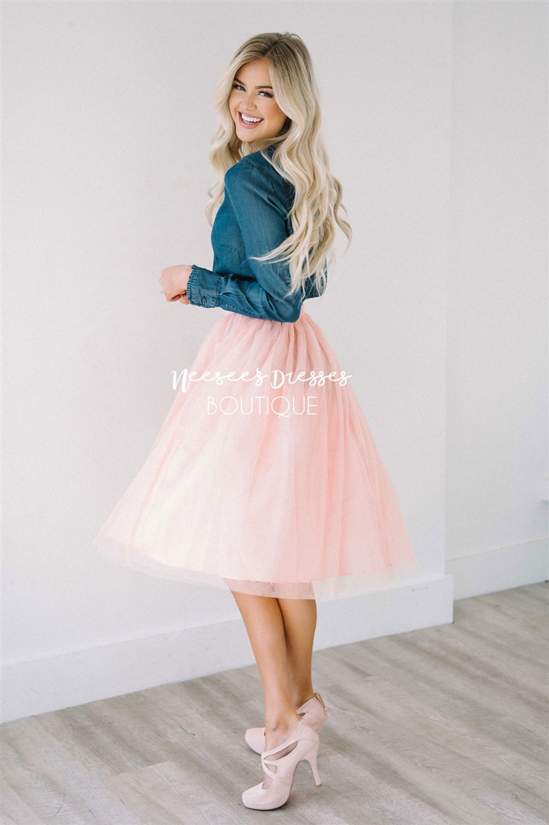 Tulle skirt larger photo email a friend PQYGIYA