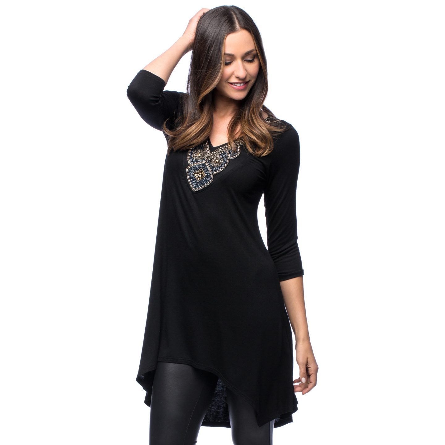 tunics to wear with leggings complement a flowing tunic with leggings MPPRJYC