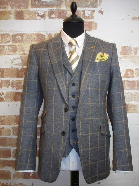 Tweed Suits 3 piece tweed suit (8) UQUIICL