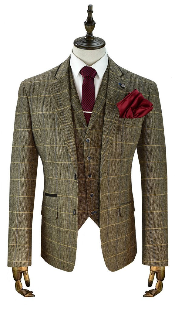 Tweed Suits boys london tweed check suit - mens tweed suits BBRHBEV