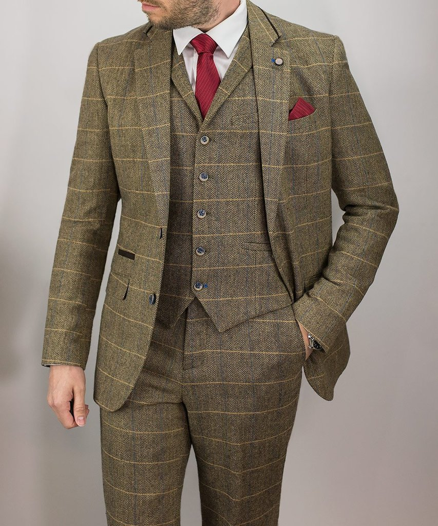 Tweed Suits london brown tweed suit - mens tweed suits RVZBHKR