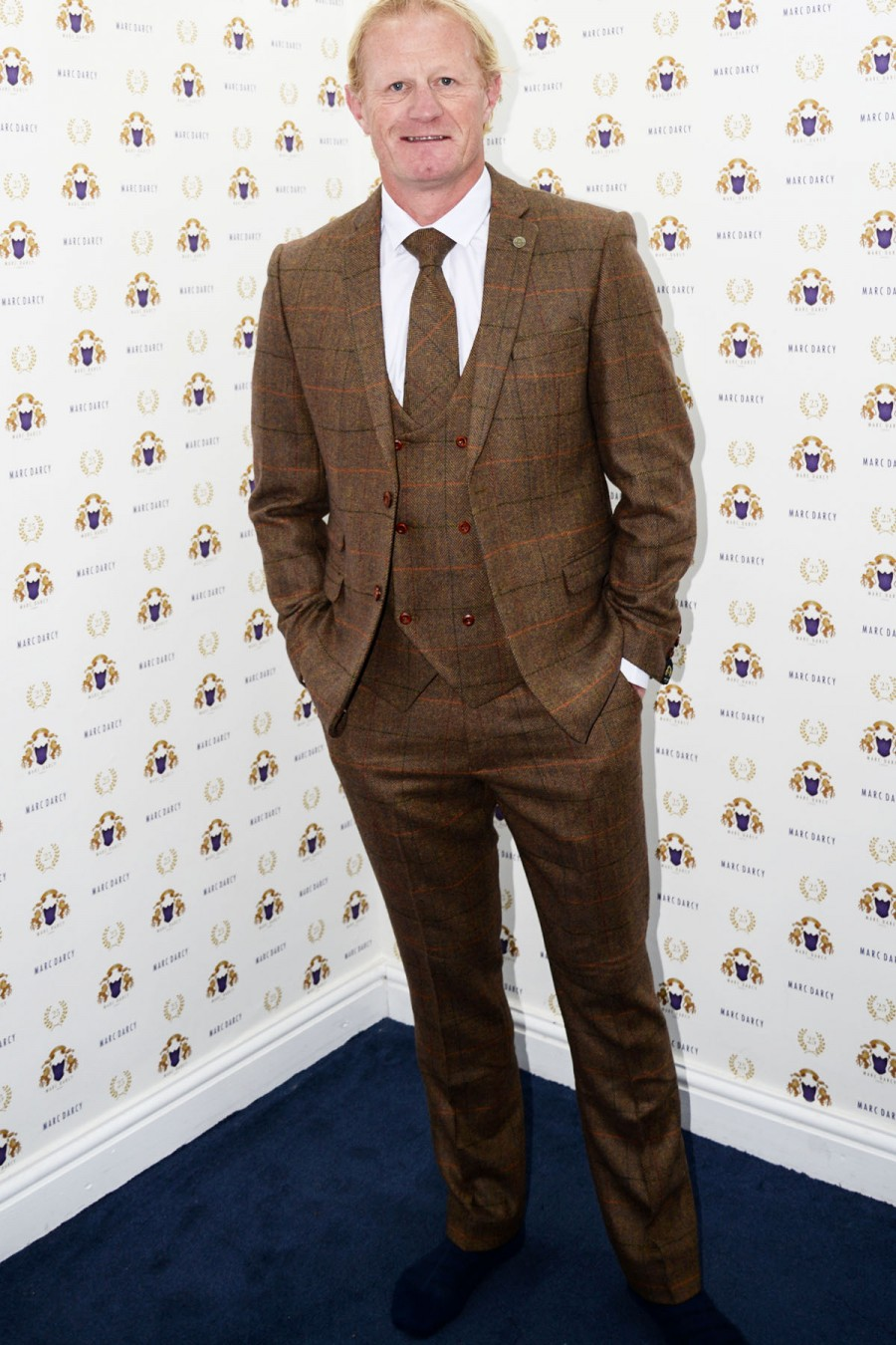 Tweed Suits nelson - tan three piece tweed suit as seen on colin hendry CXMTDEH