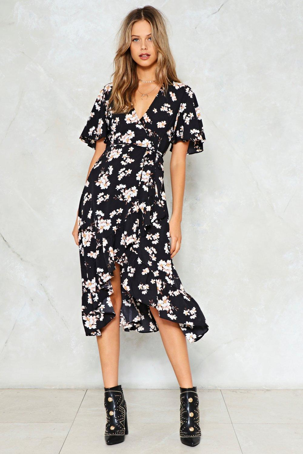 two to the flower of love floral dress UJRVACP
