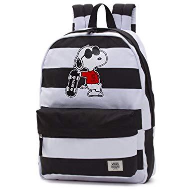 vans bags vans peanuts realm backpack joe cool school bag va3aowo2u limited edition DUUILGF