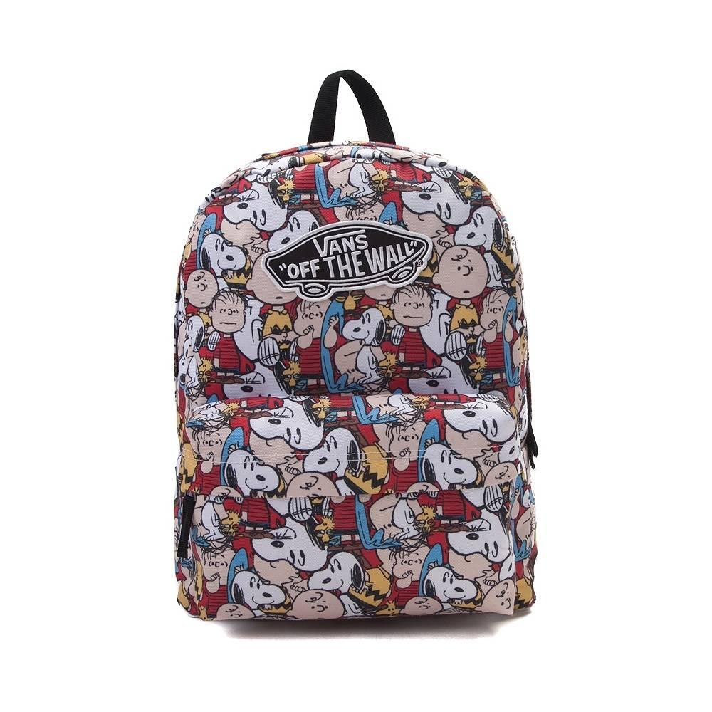 vans bags vans realm peanuts backpack - multi - 35851 DLOSVKF
