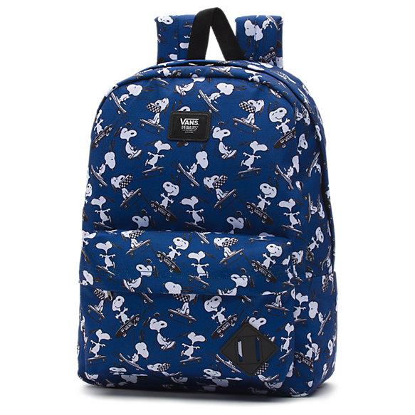 vans bags vans x peanuts old skool backpack MUHOJBI