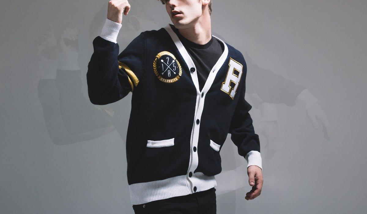 Varsity Sweater varsity cardigan. AAQVIJR