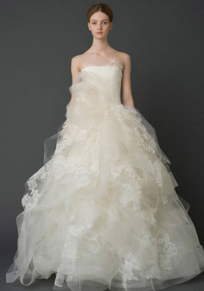 Vera Wang wedding dress bridal/iconic QOXIRLK