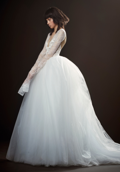 Vera Wang wedding dress bridal/spring 2018 BWGAZHR