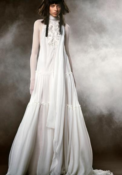 Vera Wang wedding dress bridal/spring 2018 HEMUHTY