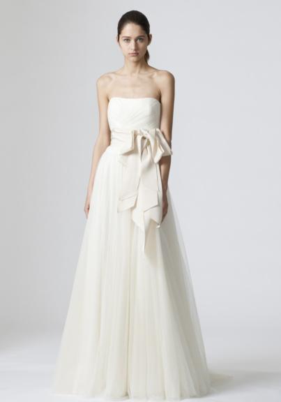 Vera Wang wedding dress vera wang ADNCINR