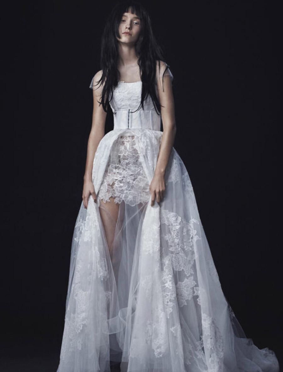 Vera Wang wedding dress ... vera wang lucia wedding dress luxe collection size 8. previous next ... JJLQCRY