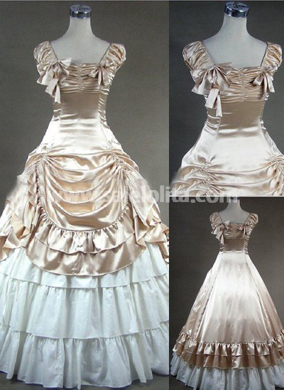 Victorian dresses luxuriant champagne gothic victorian dress. loading GTWSKFN