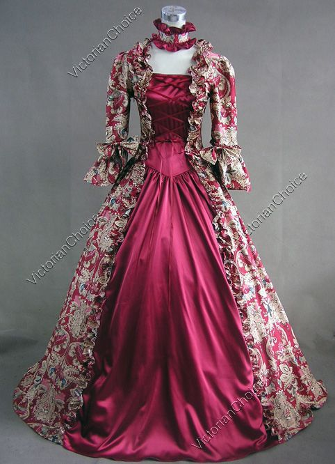Victorian dresses victorian burgundy dress | pinterest | social class, victorian dresses and  perfect woman EOPMANI