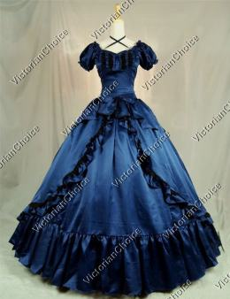 Victorian dresses victorian southern belle old west fantasy fairytale ball gown bridesmaid  dress theater clothing RFXYSRM
