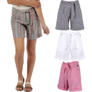 Walking shorts image is loading regatta-womens-ladies-samarah-coolweave-cotton-casual- walking- IXKLUAQ
