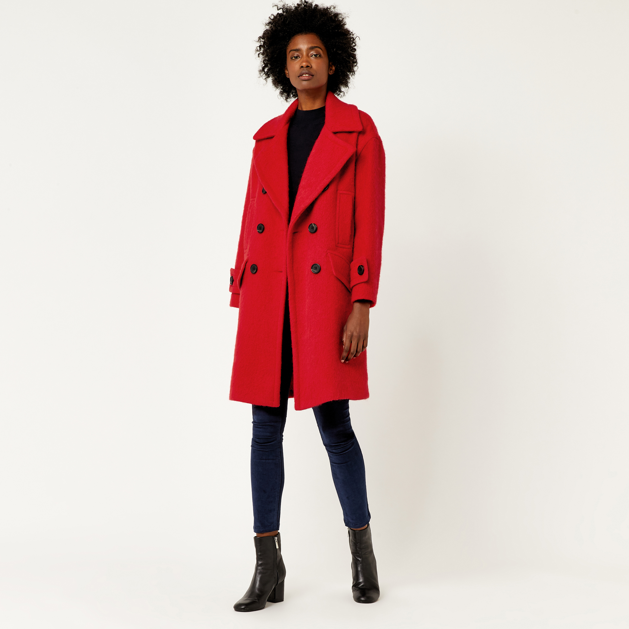 warehouse, red coat bright red 1 ... DWOLREB
