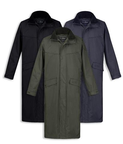 waterproof coats jack murphy stockton menu0027s long waterproof coat - hollands country clothing DZOJPEM