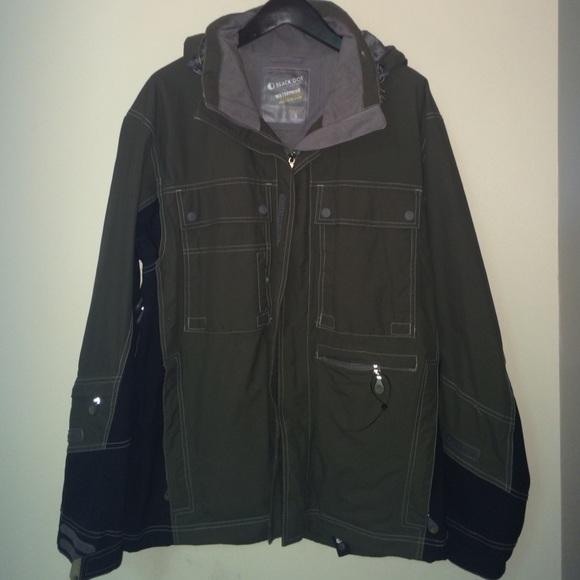 waterproof coats menu0027s black dot outerwear waterproof jacket PTPBJOU