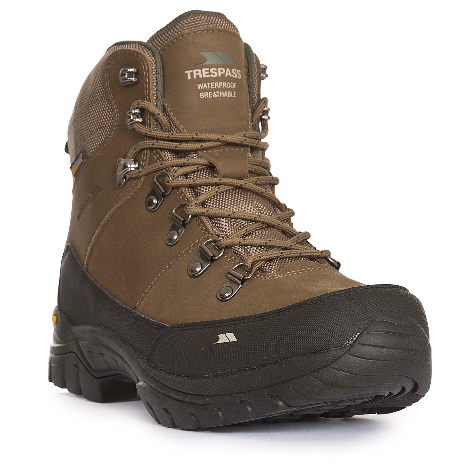 waterproof walking boots carmack menu0027s vibram walking boots | trespass eu MYRGXVL