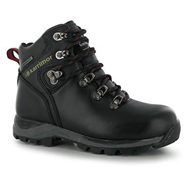 waterproof walking boots karrimor kids skido junior walking boots waterproof hiking shoes lace up:  amazon.co.uk: shoes u0026 WYXQTBO