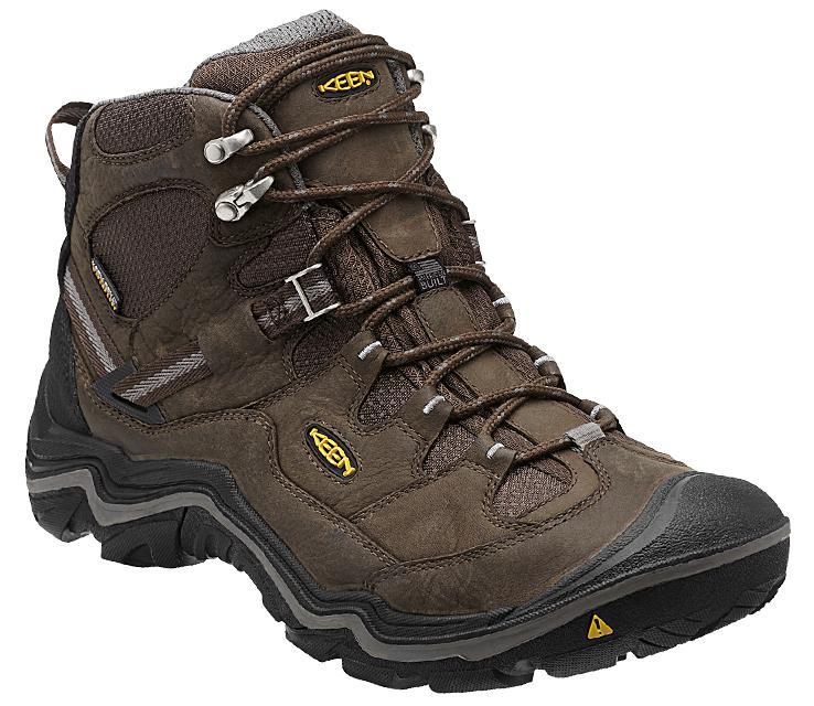 waterproof walking boots keen menu0027s durand mid waterproof hiking boots ECILNPN
