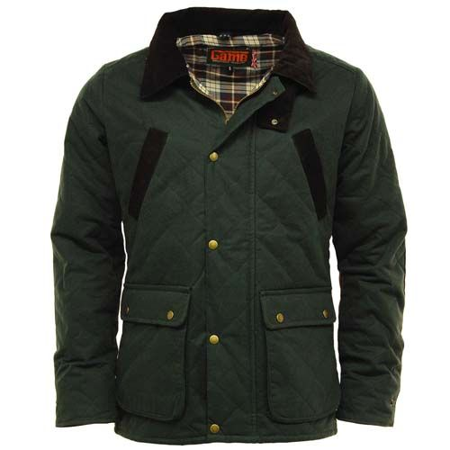 Waxed Jackets game oxford menu0027s quilted waxed jacket - olive NWJIENH