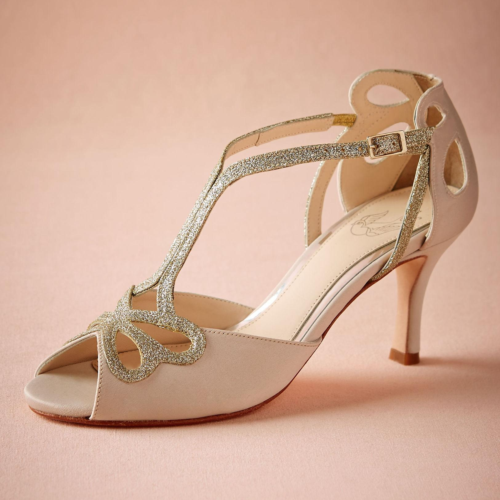 wedding shoes low heel blush low heel wedding shoes hollow out peep toe bridal sandals for women  buckle UKCPGLJ