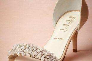 wedding shoes low heel satin low heel wedding shoes pumps slip ons sandals gold leather buckle  closure glitter OTEDZQT