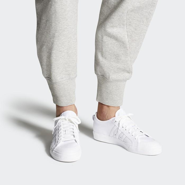 white adidas nizza low shoes originals XRHMKHB
