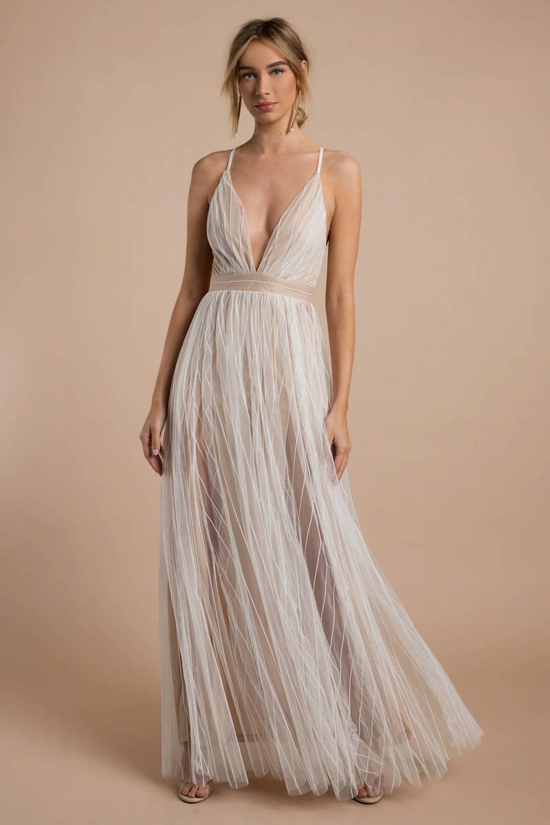 white maxi dress everley white u0026 nude lace maxi dress VRIJOOY