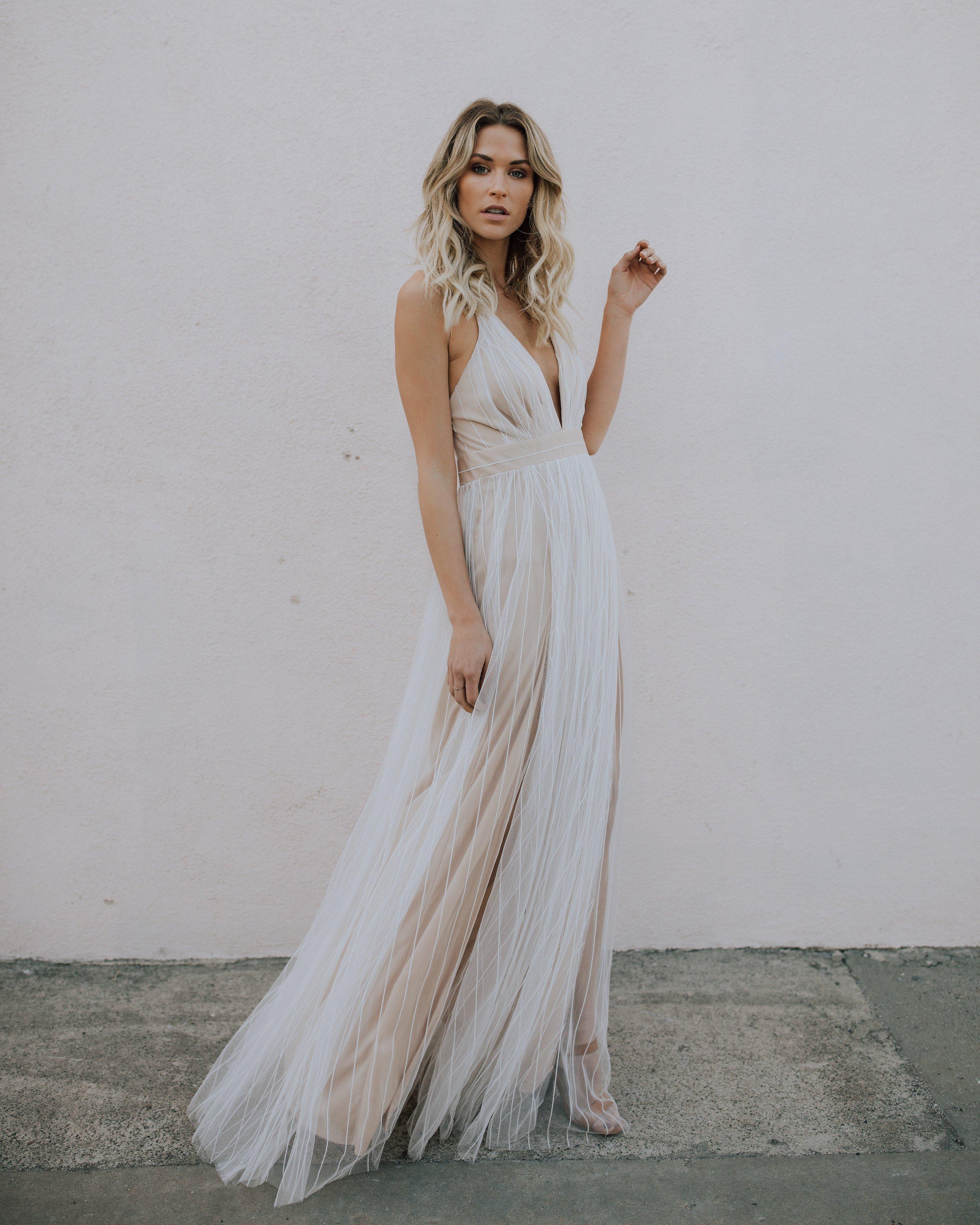 white maxi dress karmen maxi dress - white AYGMYJV