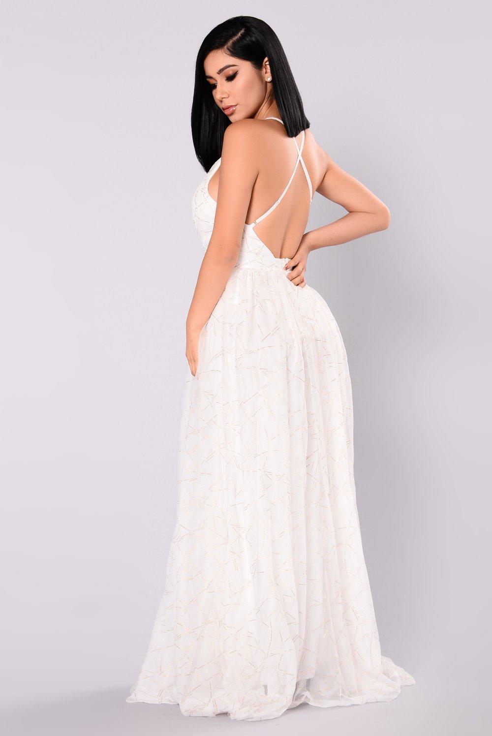 white maxi dress winning maxi dress - white HIDVCPQ