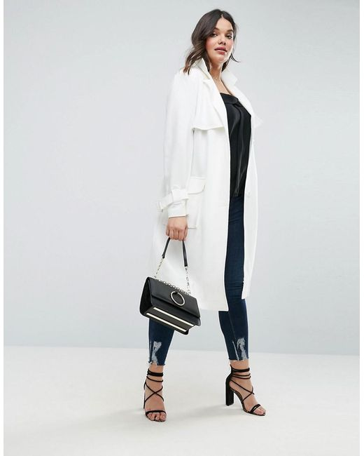 The White Trench Coat: A Combination of Style and Safety