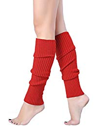 women juniors 80s eightyu0027s ribbed leg warmers for party sports FXBQPHT