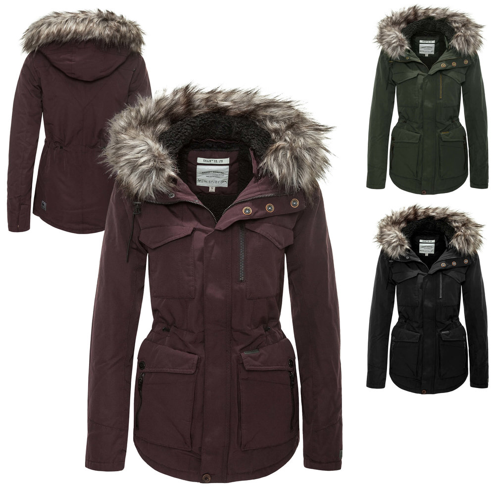 Women Winter Jackets khujo womenu0027s winter jacket parka coat, 130,00 u20ac PQXIRCR