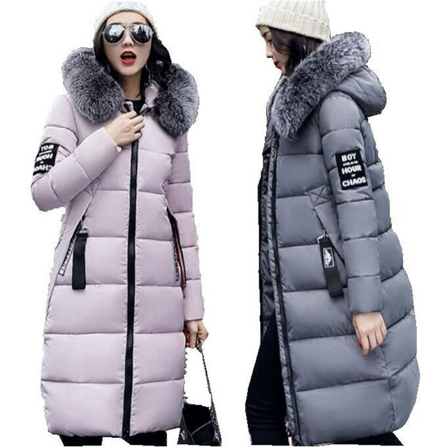 Women Winter Jackets winter jacket women 2017 new fashion longfur hood parkas for womens winter  jackets and AAULELA