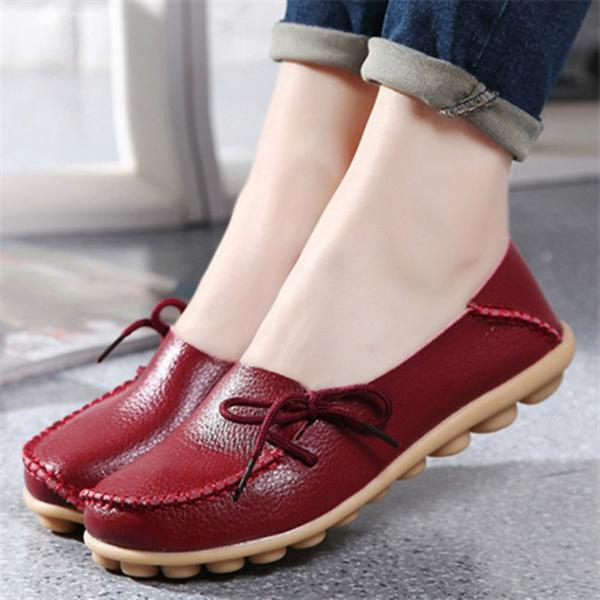 Womens Casual Shoes 2017 new genuine leather women flats moccasins loafers footwear driving shoes  women casual shoes OARJXRI