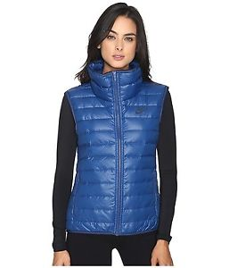 Womens Down Vest image is loading nike-womens-down-vest-nwt-size-xs-blue- UGWHQOT