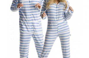 womens footed pajamas u0027blue steelu0027 adult footed onesie pajamas. u0027 BSIZUSL