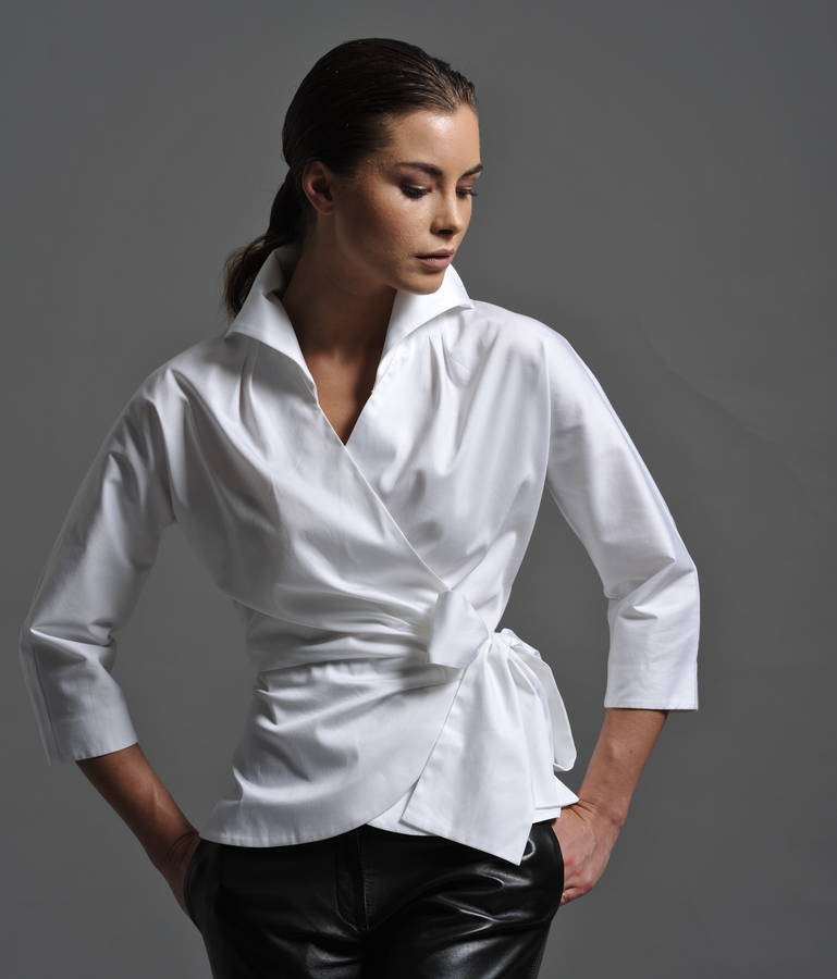 Womens White Shirts abigail white shirt KPNMDMO