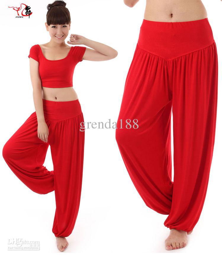 Yoga clothes for Women 2018 new hotselling yoga clothes womenu0027s yoga pants womenu0027s wide leg  pant,harem pants bloomers KUTXFBN